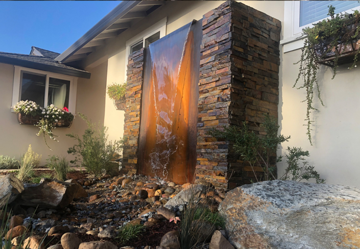 Water Features by Bay Maples